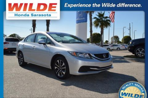 Certified Pre-Owned 2013 Honda Civic 4dr Auto EX FWD 4dr Car