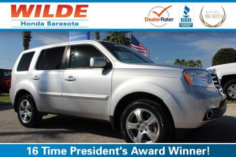Certified Pre-Owned 2015 Honda Pilot 2WD 4dr EX-L FWD Sport Utility