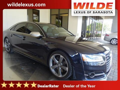 Pre-Owned 2015 Audi S8 4dr Sdn AWD
