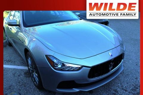 Pre-Owned 2017 Maserati Ghibli 3.0L RWD 4dr Car