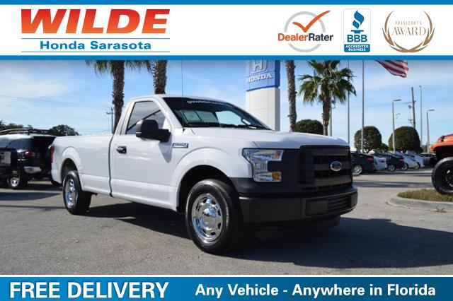 Pre-Owned 2015 Ford F-150 2WD Reg Cab 122.5 XL