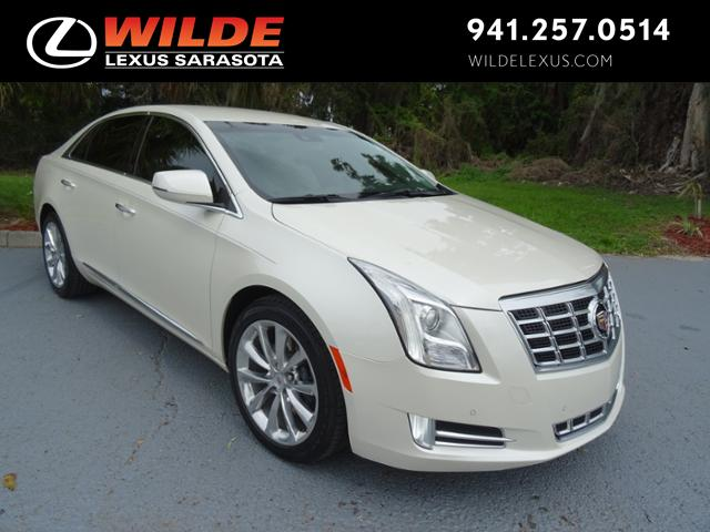 Pre Owned 2013 Cadillac Xts Luxury 4dr Car In Sarasota L190096a
