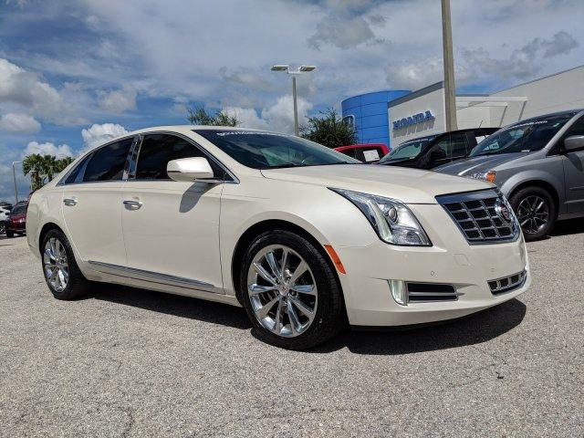 Pre Owned 2013 Cadillac Xts Luxury 4dr Car In Sarasota K0994