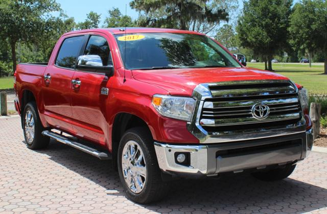 Pre Owned 2017 Toyota Tundra 4wd 1794 Edition Crewmax 5 Bed