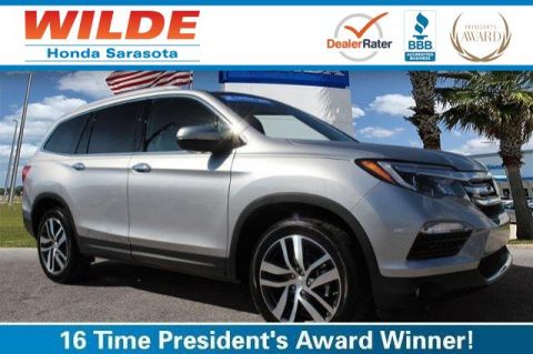 Certified Pre-Owned 2017 Honda Pilot Elite AWD AWD