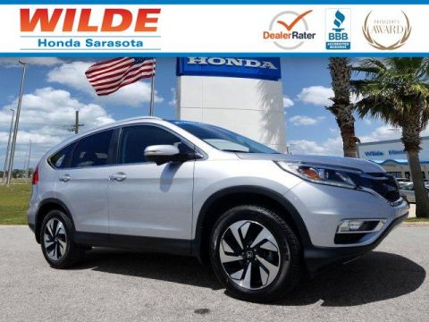 Certified Pre-Owned 2015 Honda CR-V Touring FWD Sport Utility