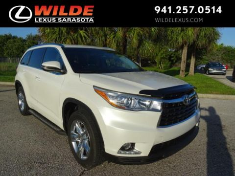 Pre-Owned 2015 Toyota Highlander Limited FWD Sport Utility