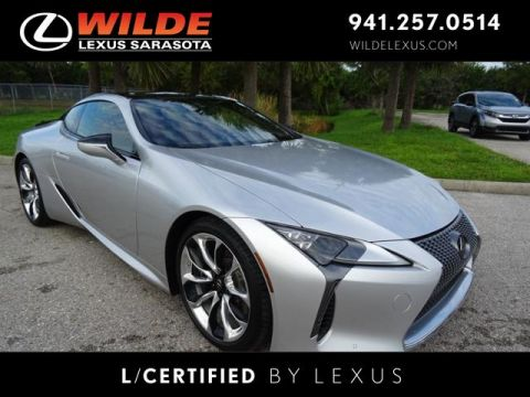 Certified Pre-Owned 2018 Lexus LC 500 LC 500 RWD 2dr Car
