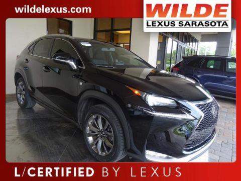 Certified Pre-Owned 2015 Lexus NX 200t F Sport With Navigation & AWD
