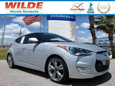 Pre-Owned 2012 Hyundai Veloster w/Black Int FWD 3dr Car