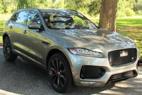Certified Pre-Owned 2018 Jaguar F-PACE S AWD