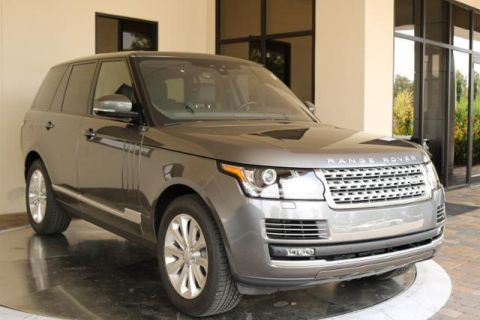 Pre-Owned 2017 Land Rover Range Rover V6 Supercharged HSE SWB 4WD