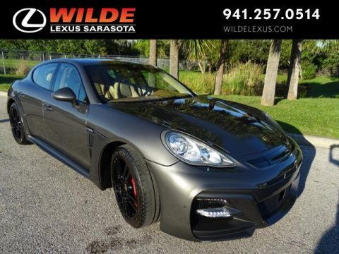 Pre-Owned 2013 Porsche Panamera Turbo AWD